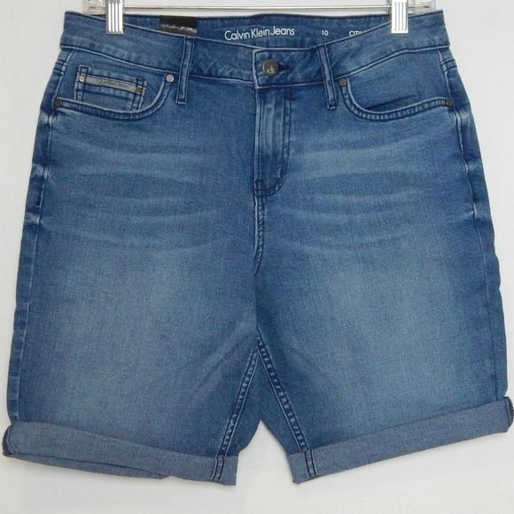 Calvin Klein Jeans Pants - Calvin Klein Womens Size 10 Shorts Jean City Short